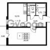 Продается квартира 1-ком 45.62 м² Комендантский проспект 53к 1, метро Комендантский проспект
