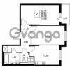 Продается квартира 2-ком 60.8 м² Комендантский проспект 53, метро Комендантский проспект