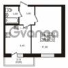 Продается квартира 1-ком 33.78 м² проспект Авиаторов Балтики 3, метро Девяткино
