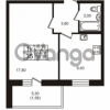 Продается квартира 1-ком 33.79 м² проспект Авиаторов Балтики 3, метро Девяткино