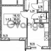 Продается квартира 1-ком 35.01 м² улица Шувалова 7, метро Девяткино