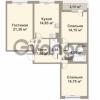 Продается квартира 3-ком 82.8 м² проспект Медиков 10, метро Петроградская