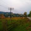 Продажа участка 75 соток вдоль дороги под коммерцию в Ильцы, Карпаты