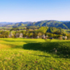 100-соток на Буковецком перевале со сказочным видом на горные пейзажи