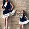 Производители нового тренда одинаковой одежды  Мама и Дочка Juliana Style.