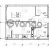 Продается квартира 1-ком 41 м² Невского