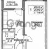 Продается квартира 1-ком 39 м² Ковалевская ул