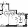 Продается квартира 1-ком 37 м² Всеволожский р-он, Сертолово г., Черная Речка мкр