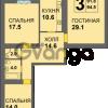 Продается квартира 3-ком 94 м² Дадаева