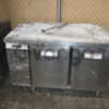 Продам холодильный стол бу двухдверный  для ресторана кафе паба