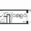 Продается квартира 1-ком 26 м² антонова ул.,5в