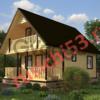 Дом из профилированного бруса - 83м2