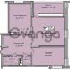 Продается квартира 2-ком 110 м² Кондратюка ул., д. 3