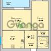 Продается квартира 2-ком 59 м² Приморская