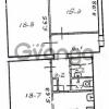 Продается квартира 2-ком 77 м² Чапаева Ул. 4, метро Аннино