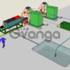Мобильное скважинное оборудование добычи и промывки янтаря