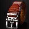 Кожаный ремень AFS Jeep светло-коричневый