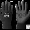 тонкие трикотажные полиэстеровые перчатки с PU покрытием т.м. BRADAS