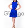 Платье с декором из пуговиц 023