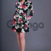 Платье с принтом розы 19