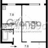 Продается квартира 1-ком 40 м² Вербицкого Архитектора