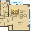 Продается квартира 2-ком 66 м² Шатурская