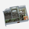Продается квартира 2-ком 63 м² ул Совхозная, д. 16, метро Речной вокзал