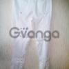 Шикарные итальянские белые брюки джинсы