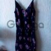 Модное шифоновое платье комбинация