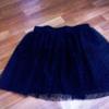 Шикарная модная пышная черная юбка
