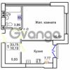 Продается квартира 1-ком 33 м² Левитана
