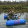 Надувные баллоны - плот для квадроцикла из пвх