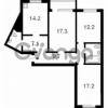 Продается квартира 3-ком 91 м² ул. Урловская, 30, метро Осокорки