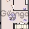 Продается квартира 1-ком 25 м² Измайловская