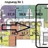 Продается квартира 3-ком 78 м² яна фабрициуса
