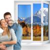 металлопластиковые окна,двери,жалюзи, балконы