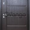 Дверь входная металлическая с МДФ накладкой
