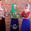 Недорогое мусульманское платье Шафран
