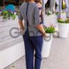 Стильный летний костюм Plus Size 1555