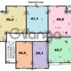 Продается квартира 1-ком 43 м² Фабрициуса