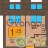 Продается квартира 1-ком 32 м² Пражский бульвар