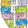 Продается квартира 1-ком 38.8 м² Учительская