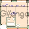Продается квартира 1-ком 27 м² Макаренко