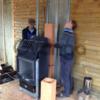 Установка дровяных каминов и печей под ключ в Киеве и области