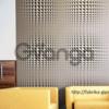 Гипсовая 3D панель для стен ( 002 ) 500 х 500 х 25