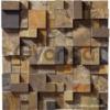 Гипсовая 3D панель для стен ( 008 ) 500 х 500 х 25