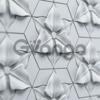 Гипсовая 3D панель для стен ( 003 ) 420 х 347 х 25