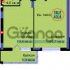 Продается квартира 1-ком 43 м² Артиллерийская
