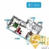Продается квартира 2-ком 61 м² Заречная ул., д. 1г, метро Славутич