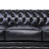 Кожаный диван в стиле Честер